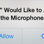 Microphone Permission iOS 7